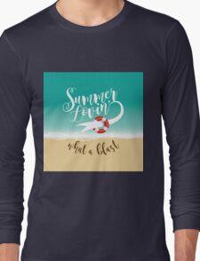 Summer Lovin' design Long Sleeve T-Shirt