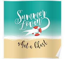 Summer Lovin' design Poster