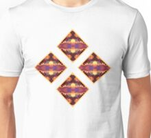 Ornate Polygon Mosaic 15 Unisex T-Shirt