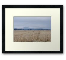 Australian Beautiful Countryside Framed Print