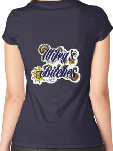 Wifey's Bitches Women's Fitted Scoop T-Shirt