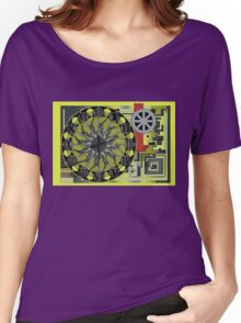TIME IS AN ILLUSION 1 Women's Relaxed Fit T-Shirt