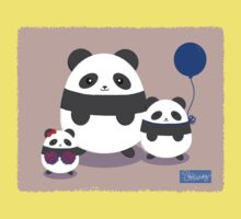 Panda Fun One Piece - Short Sleeve