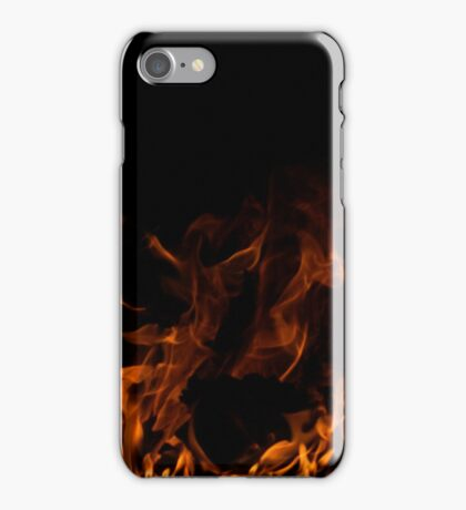 Fiery Touch iPhone Case/Skin