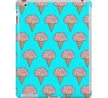 Mellow Brains Scattered cones Aqua iPad Case/Skin