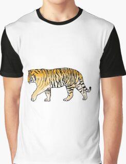 cute orange jungle tiger Graphic T-Shirt