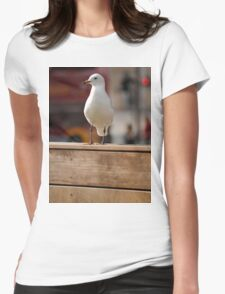 Melbourne -Seagulls  Womens Fitted T-Shirt