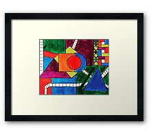 The Transit Framed Print