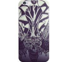 Skull Expression  iPhone Case/Skin
