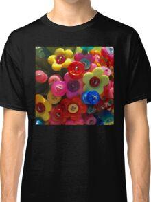 Button flower bouquet Classic T-Shirt