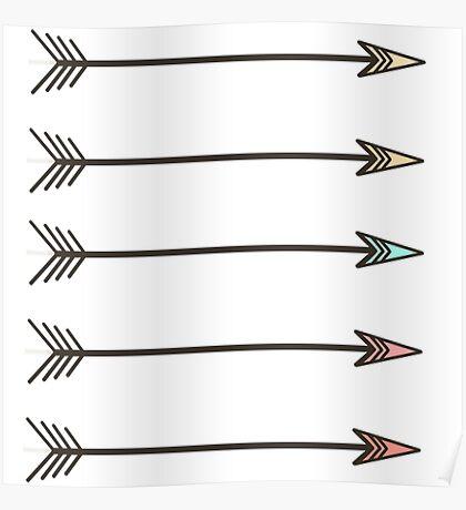 Arrows. Poster