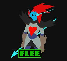 Undyne: Flee Mens V-Neck T-Shirt