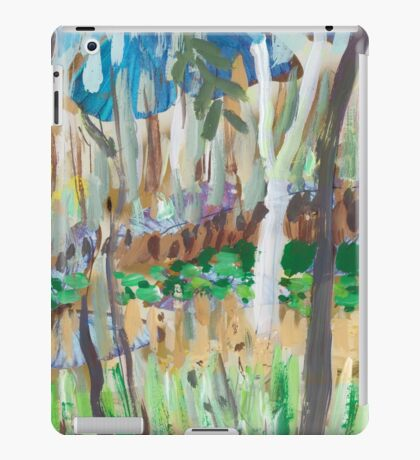 Water Lilies Through the Trees iPad Case/Skin