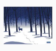 Winter Woods Baby Tee