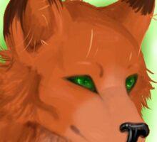 For Fox Sakes Sticker