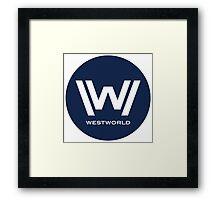 Westworld Framed Print