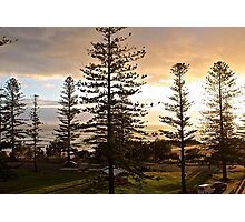 Port Macquarie sunrise  Photographic Print