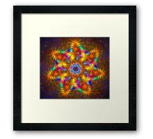 Rainbow Lights Framed Print