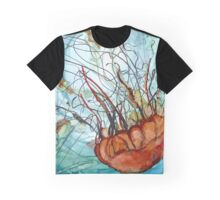 Jelly Diving Down Graphic T-Shirt