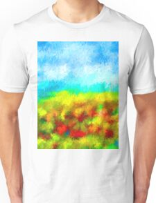 Summer Time Abstract - 1 Unisex T-Shirt