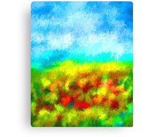 Summer Time Abstract - 1 Canvas Print