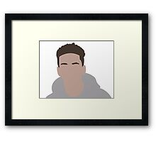 Logic Minimalistic Cartoon Framed Print