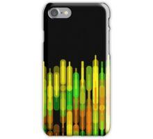 Neon Strobed Light Pattern iPhone Case/Skin