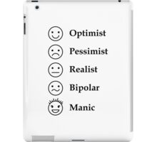 5 main emotion icons iPad Case/Skin