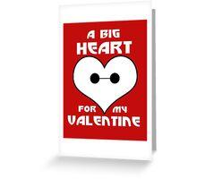 BIG HEART 6 Greeting Card