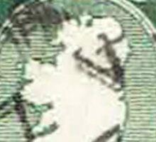 Vintage Ireland Postage Map Sticker