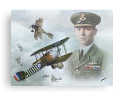 Wing Cdr William G. Barker Canvas Print