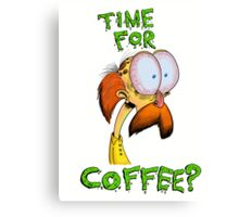 Time For Coffee? Canvas Print