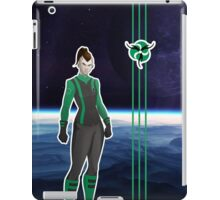 Living Starship Ciirtah female iPad Case/Skin