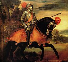 Holy Roman Emperor Charles V on Horseback by PattyG4Life