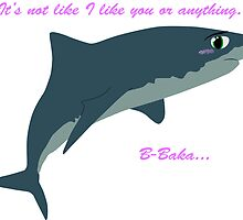 Tsundere Shark by Isaac Dawley