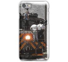 Train Men iPhone Case/Skin