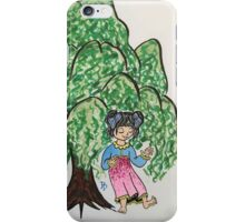 Becky dancing Willows  iPhone Case/Skin
