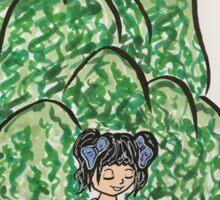 Becky dancing Willows  Sticker