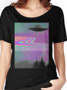 Psychedelic UFO Women's Relaxed Fit T-Shirt