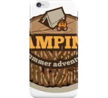 Camping Icon iPhone Case/Skin