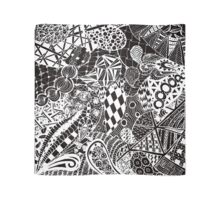 Zentangle drawing Scarf