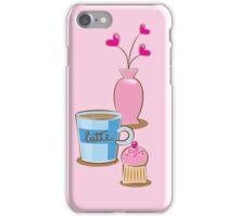 A very cute Coffee Break! iPhone Case/Skin