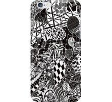 Zentangle drawing iPhone Case/Skin