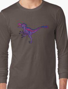 Bi Pride Raptor - Bilociraptor Long Sleeve T-Shirt