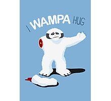 I Wampa Hug. Photographic Print