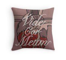 Vide Cor Meum Throw Pillow