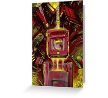 Pocket Power - RED VERSION Greeting Card