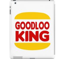 Good Looking: Vintage Burger King Parody iPad Case/Skin