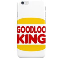 Good Looking: Vintage Burger King Parody iPhone Case/Skin