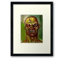 big love face Framed Print